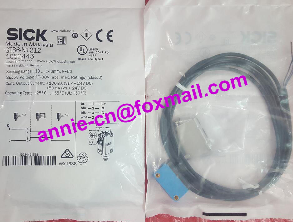 GTB6-N1212(GTB6-N1211 and stent) New and original SICK Photoelectric switch, photoelectric sensor<br>