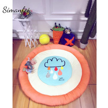 Simanfei Baby Carpets 2017 Superfine Soft Crawling Game Play Mats Tatami Newborn Infant Sleeping Climbing floor Carpet Yoga Mat(China)
