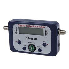 Digital LCD Satellite Signal Meter Finder Directv Dish with Compass FAT SF-95DR