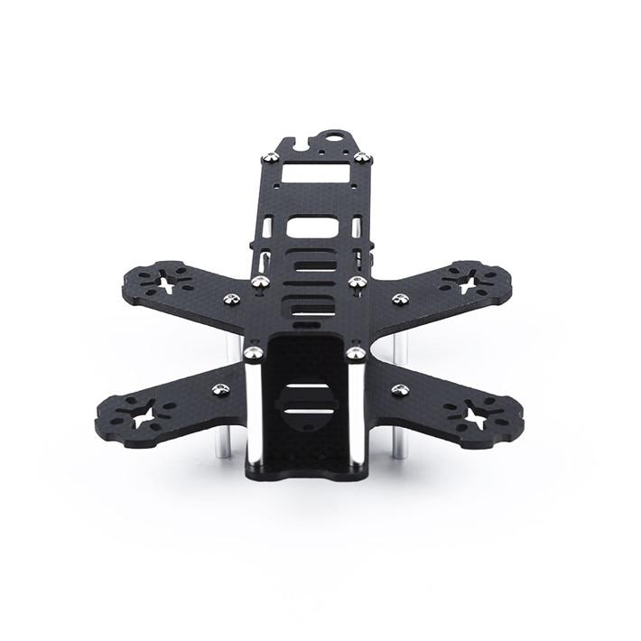 DIY mini drone FPV cross racing quadcopter QAV130 pure carbon fiber quadcopter frame unassembled<br><br>Aliexpress
