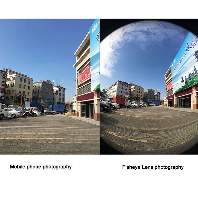 17 New For iphone Xiaomi Meizu Phone 160 Degree Fisheye Lens 0.65X Wide Angle Lens Macro Camera Phone Lens For Samsung 3 in 1 2