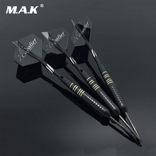 3 pcs of Hard Tip Brass Darts 23g Professional Darts Indoor Sports Dart Needle for Sporting Game Free Shipping(China)