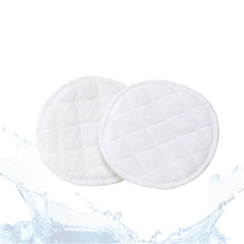Bamboo Reusable Breast Pads Nursing Breastfeeding Plain Washable Pack of 10 20