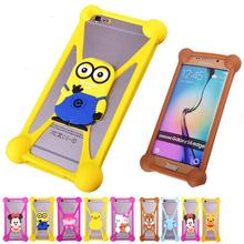 Minions Silicon Anti knock TPU Cell Phones Cases For BLU Studio C 5 + 5 Rubber Minnie Garfield 3D Case Cover For BLU Life 8 XL