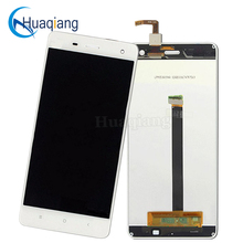 Repair Parts For xiaomi mi 4 m4 mi4 LCD Display + Touch Screen Digitizer Replacement cell phone Assembly White Free Shipping(China)