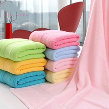 Towels Bathroom Cotton Bath Towel 100 Cotton Toalha De Banho Bath Set Microfibre Travel Large Towel Thicken Drying Sport QQC057(China)