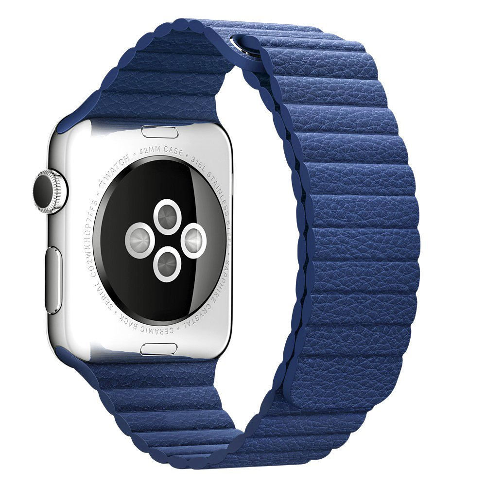 V-MORO Genuine Leather Milanese Loop Strap For Apple Watch Loop Watchband With Magnetic Buckle<br><br>Aliexpress