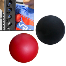 2pcs Massage Lacrosse Ball Gym Home Exercise Rubber Solid Ball Relax Body With Free Bag(China)