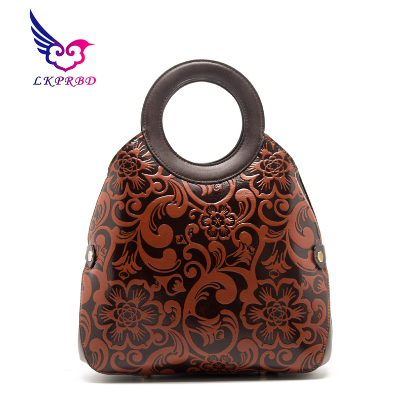 2018 LKPRBD brand Women Handbag Shoulder Bags Vintage print Female Bolsas Feminina Bag classic Bags Femme Designer Handbag8101-1<br>
