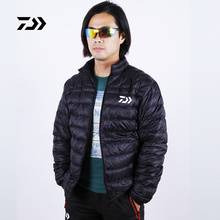 2017 NEW DAIWA Fishing down jacke White duck down Keep warm Breathable outdoors DAWA Autumn And Winterr DAYIWA Free shipping