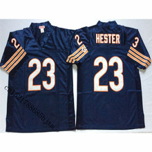 Mens 1985 Retro Devin Hester Stitched Name&Number Throwback Football Jersey Size M-3XL(China)