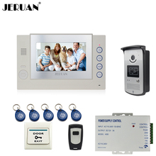 JERUAN 7`` video doorphone intercom system video door phone access control system monitor video recording photo taking