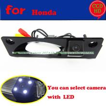 for sony ccd ODYSSEY 2008 08 car camera with LEDS night vision wire wireless waterproor rear view reversing parking camera(China)
