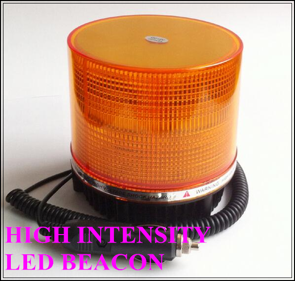High intensity DC12V or 24V 18W led round beacon,emergency lights,car warning lights for police, ambulance,fire truck,waterproof<br>
