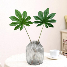 1Pcs big Artificial fake palm Leaves leaf-shaped green plants flores Home wedding DIY decoration cheap Flowers arrangement plant