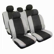 Universal Car-Styling Auto Interior Accessories Automotive Car Seat Cover Black-Grey