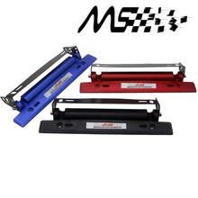 MUGEN Adjustable Carbon Fiber Look Bumber Plate,Aluminium License plate frame(China)
