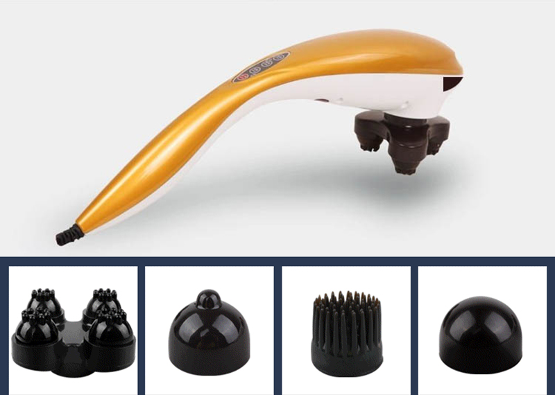 CE/FDA Approved Infrared Handheld Electric Full Body Massager Hammer Vibrating For Pain Relief<br>