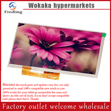 New 7 Inch Replacement LCD Display Screen For oysters pc i t72hm 3G tablet PC Free shipping(China)
