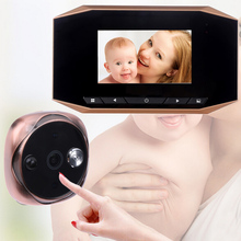 "3.5""LCD Visual Monitor Door Camera Digital Door Peephole Viewer Peep Hole Wireless Night Vision Night Camera Video"