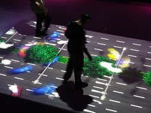 DefiLabs DEFI Interactive floor Projection system and 130 different effects(China)