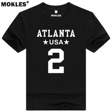 MATT RYAN 2 atlanta custom made name number t shirt exton pennsylvania t-shirt team matthew thoma boston print matty ice clothes(China)