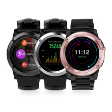HD Video call Smart Watch 3G Call GPS Navigation Wifi Browse Web Waterproof 5.0MP Camera Bluetooth With Sport Heart Rate Tracker(China)
