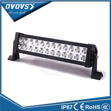 OVOVS factory wholesale dual row front bumper 13.5 72w led light bar for ATV offroad 4x4 truck tractor