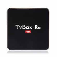 R9 Rockchip RK3229 Quad Core Android TV Box XBMC Kodi 16.0 Android 5.1 1G/8G WiFi 4K 1080P H.265 DLNA Miracast Airplay
