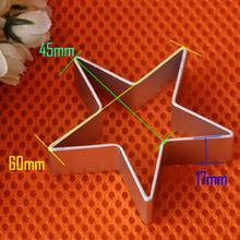 Adorable Metal Mold Star Shaped Sugarcraft Biscuit Tools Cookie Cake Jelly Pastry Baking Cutter Mould Tool Free Shipping