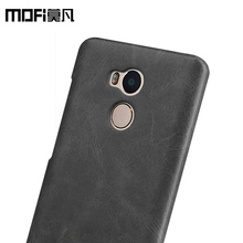 xiaomi redmi 4 pro case leather MOFi PU back cover for xiaomi redmi 4 capas soft hand feeling redmi4 coque luxury black plastic