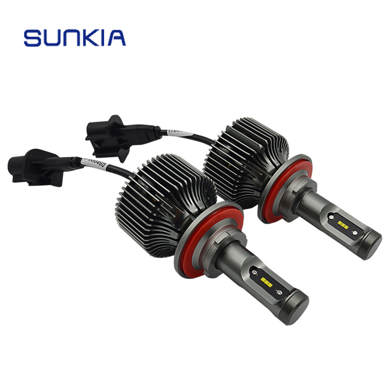 2pcs/set 30W High Bright 8400LM Auto H13 LED Headlight Car Styling All in One External Light Headlamp Free Shipping<br>