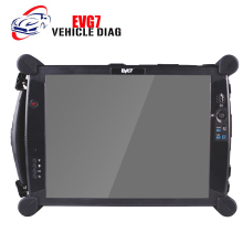 Latest EVG7 DL46/HDD500GB/DDR2GB Diagnostic Controller Tablet PC EVG7 DL46 Professional Garage and Mechanic Car Repair Services(China)