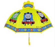 2-7age high quality kids students boy  umbrella cartoon tomos train yellow Children's day gift