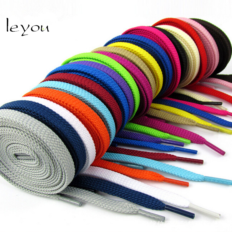 Leyou New Sneaker Flat Shoelaces Hiking Boots Shoe...