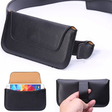 Universal Flip Wallet Phone Cases for iPhone X 5S 6 6S 7 8 Plus Xiaomi Redmi Note 4X Pro Belt Clip PU Leather Holster Cover Case(China)