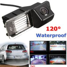 Car Reverse Reversing Camera Kit Night Vision Auto  Rear View Camera Waterproof For VW /Golf /MK6 /MK7 /GTI