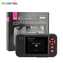 100% original Launch X431 Creader VII+ Creader VII plus Multi-language Diagnostic Tool DHL Free Shipping same as crp123