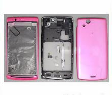 Front & Mid Housing+Battery Cover Frame Bezel Full Housing+Side Button For Sony Ericsson Xperia Arc S LT18 LT18i LT15i LT15 X12(China)