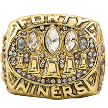 Promotion New Fashion Classic Replica Super Bowl 1994 San Francisco 49ers Championship Ring for Fans(China)