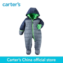 Carter's 1pcs baby children kids Zip-Front Snowsuit CL216H58,sold by Carter's China official store(China)
