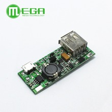 5pcs/lot DIY Mobile Power supply board 5V booster power module rechargeable battery protection board Integrated Circuits(China)