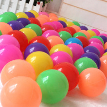 30Pcs Colorful Ball Ocean Balls Soft Plastic Ocean Ball Baby Kid Swim Pit Toy High Quality