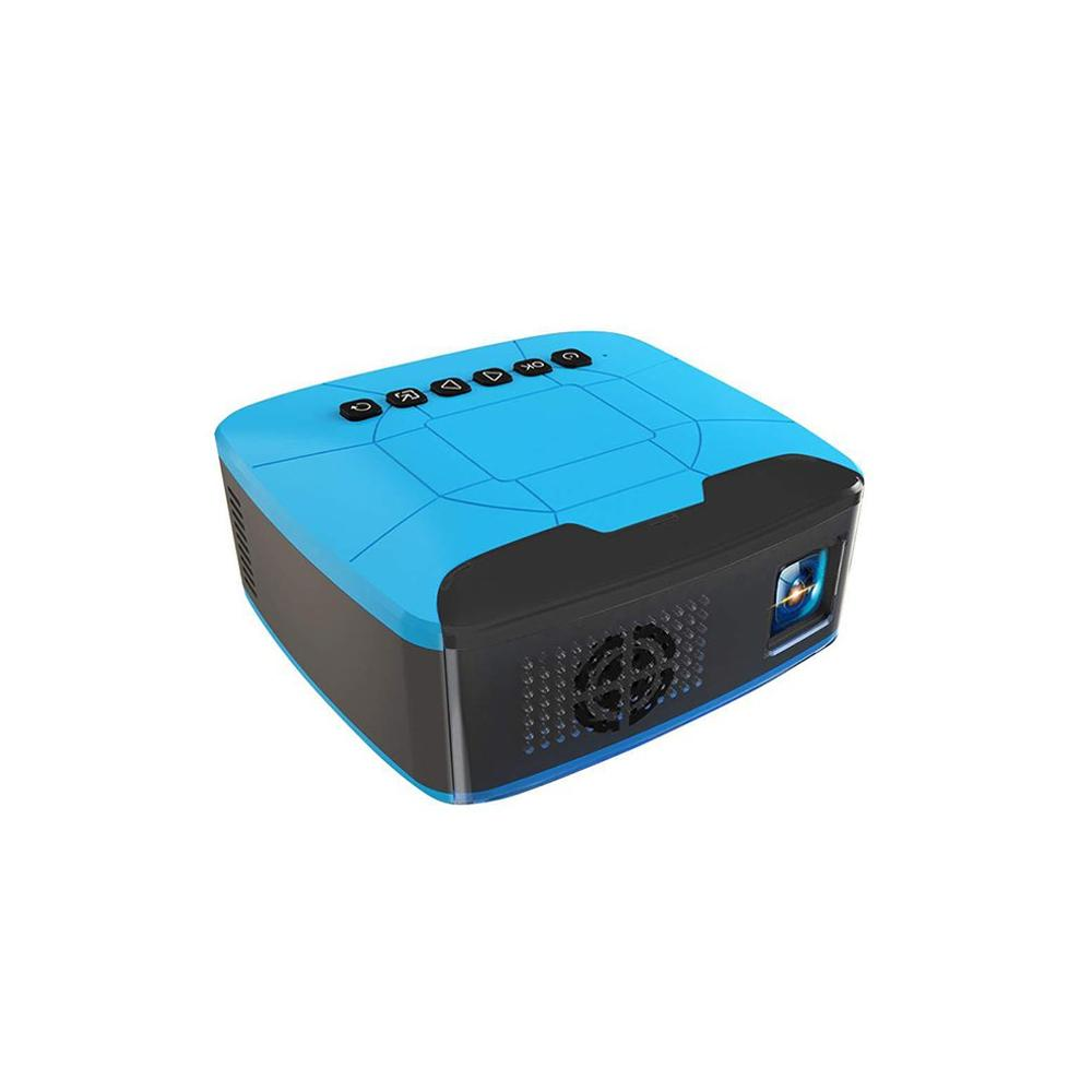 U20 Mini Portable Projector USB HDMI Home Cinema Projector Support TF Card Home Theater Multimedia Entertainment