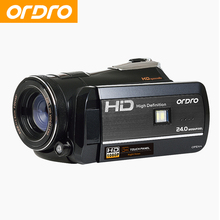 ORDRO HDV-D395 1080P HD Digital Camera Video Recorder Support Remote Control Cameras Video Recorder CMOS Professional Camcorder(China)
