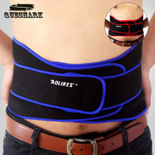 Professional Adjustable Breathable Sports Pressurized Back Waist Support Elastic Fitness Bodybuilding Brace Weightlifting Belt(China)