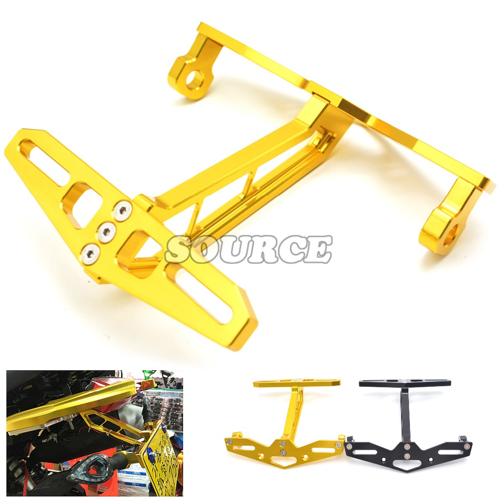 CNC Aluminum Motorcycle License Plate Frame Steering Lamp License Plate For Honda MSX125 MSX300 MSX 125 MSX 300 MSX125 300<br><br>Aliexpress