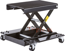 Widen motorcycle scissor lift table auto repairing platform. tire repair tools
