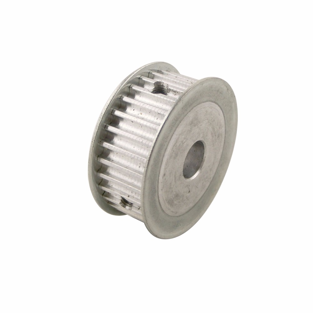 5M Type 30T 30 Teeth Timing Pulley Alumium Alloy 12.7mm Inner Bore 21mm Belt Width Synchronization Pulleys With M5 Screws<br><br>Aliexpress