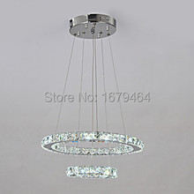 2015K9 Crystal Quartet Beads With Double Circle Design Chandelier